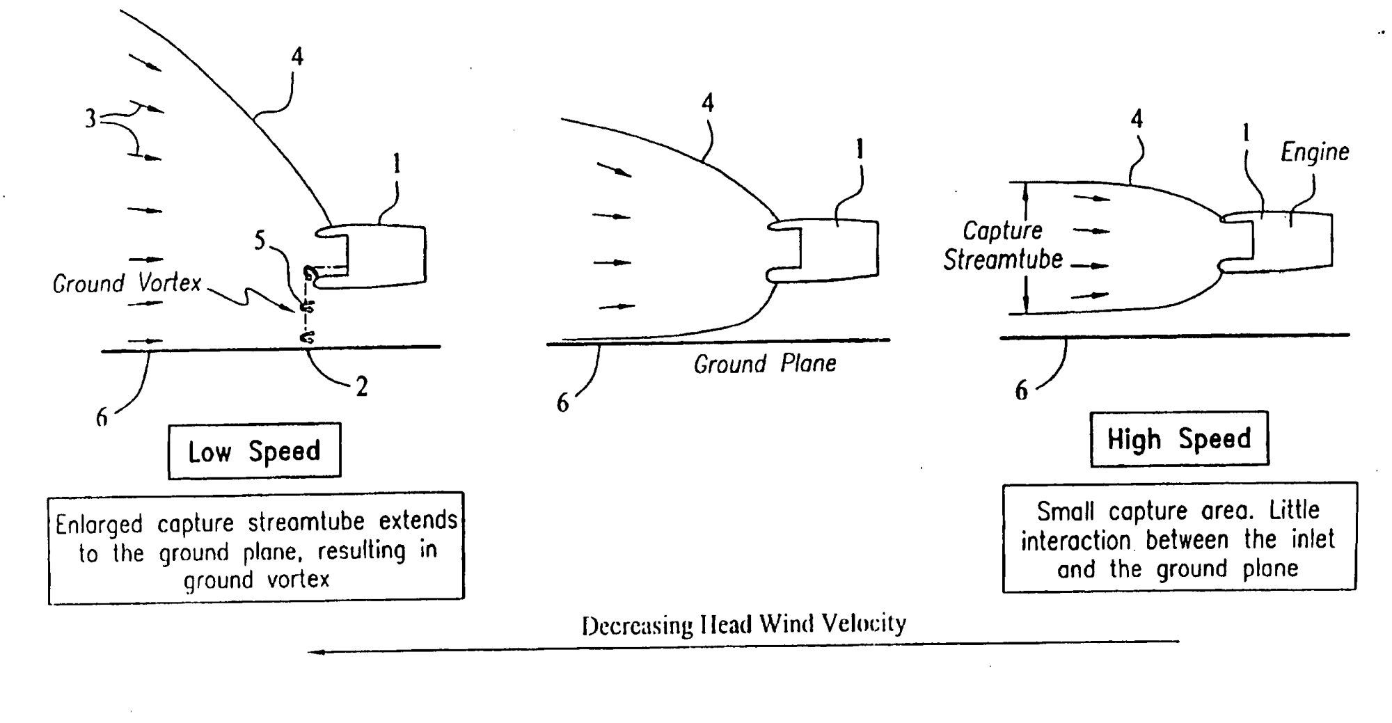hight resolution of image from patent application of active ground vortex suppression system for an aircraft engine ep 1413721 b1