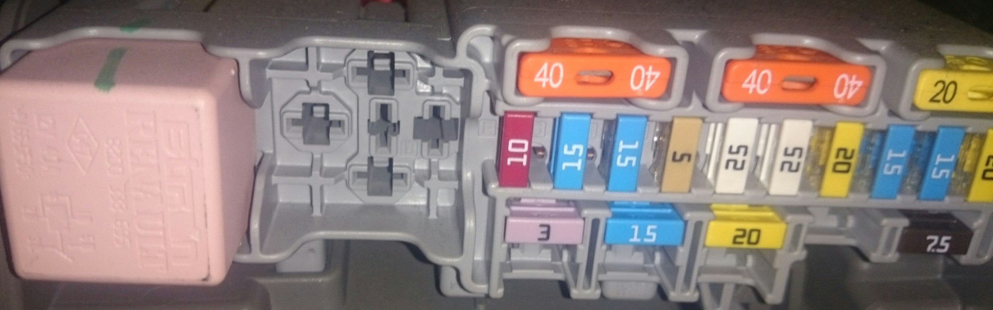 hight resolution of are the fuses in renault megane grande scenic vtx 1800 fuse box location fuse box layout