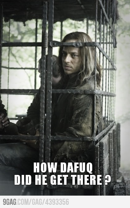 Game Of Thrones How Did Jaqen Hghar Get Caught