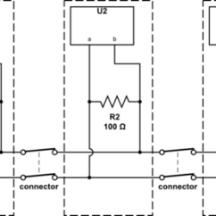 Modbus Rs485 Wiring Diagram Single Phase Motor With Two Capacitor Network Redundant Termination Resistor Electrical Schematic