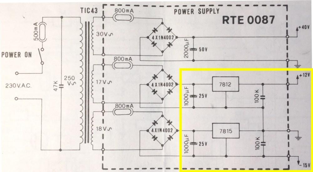 medium resolution of 6 volt positive ground wiring diagram 3 terminal regulator wiringpower supply schematic power supply is this