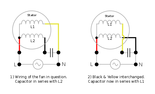 internal wiring diagram of ceiling fan mercedes w124 diagrams electrical - how do i re-wire a ceiling-fan to reverse its direction? home improvement stack ...