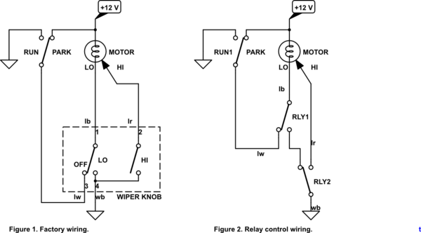 Universal Wiper Switch Wiring Diagram Universal Wiper