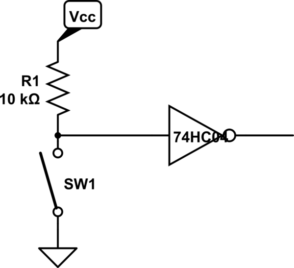 Ultra-basic question: where is the voltage in this simple