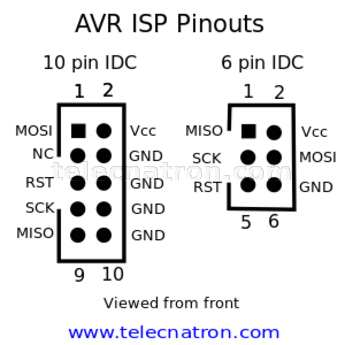 Usbasp Pin Diagram