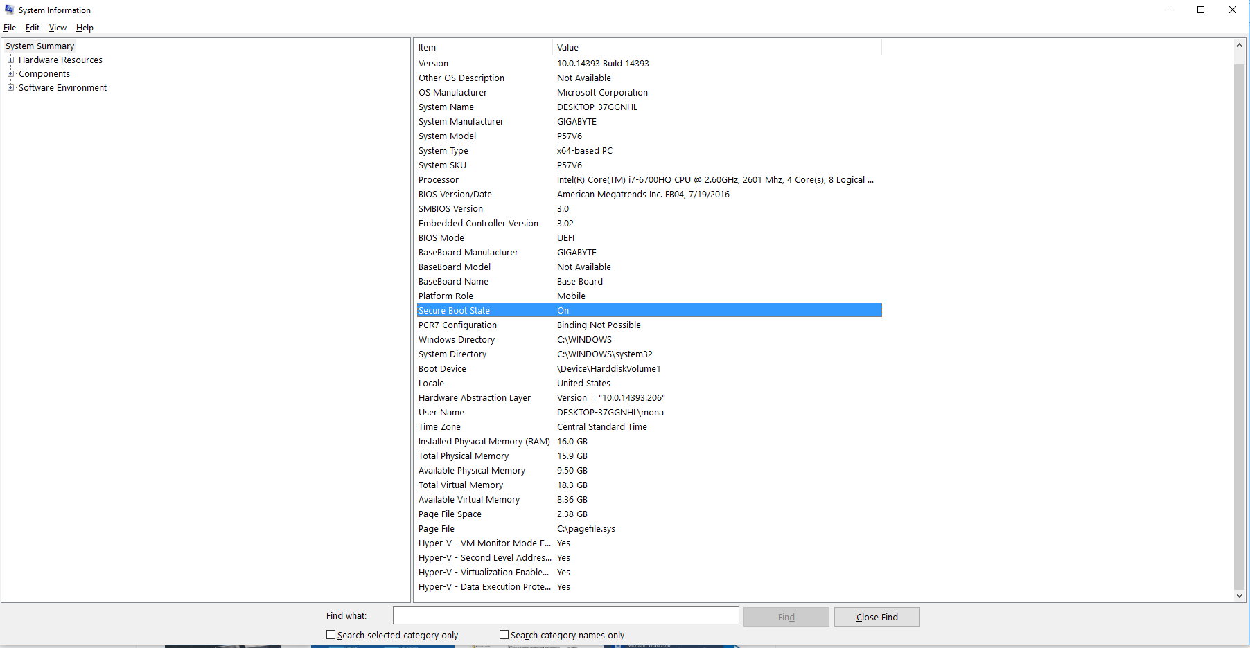 secure boot can't be selected in BIOS in Windows 10 home