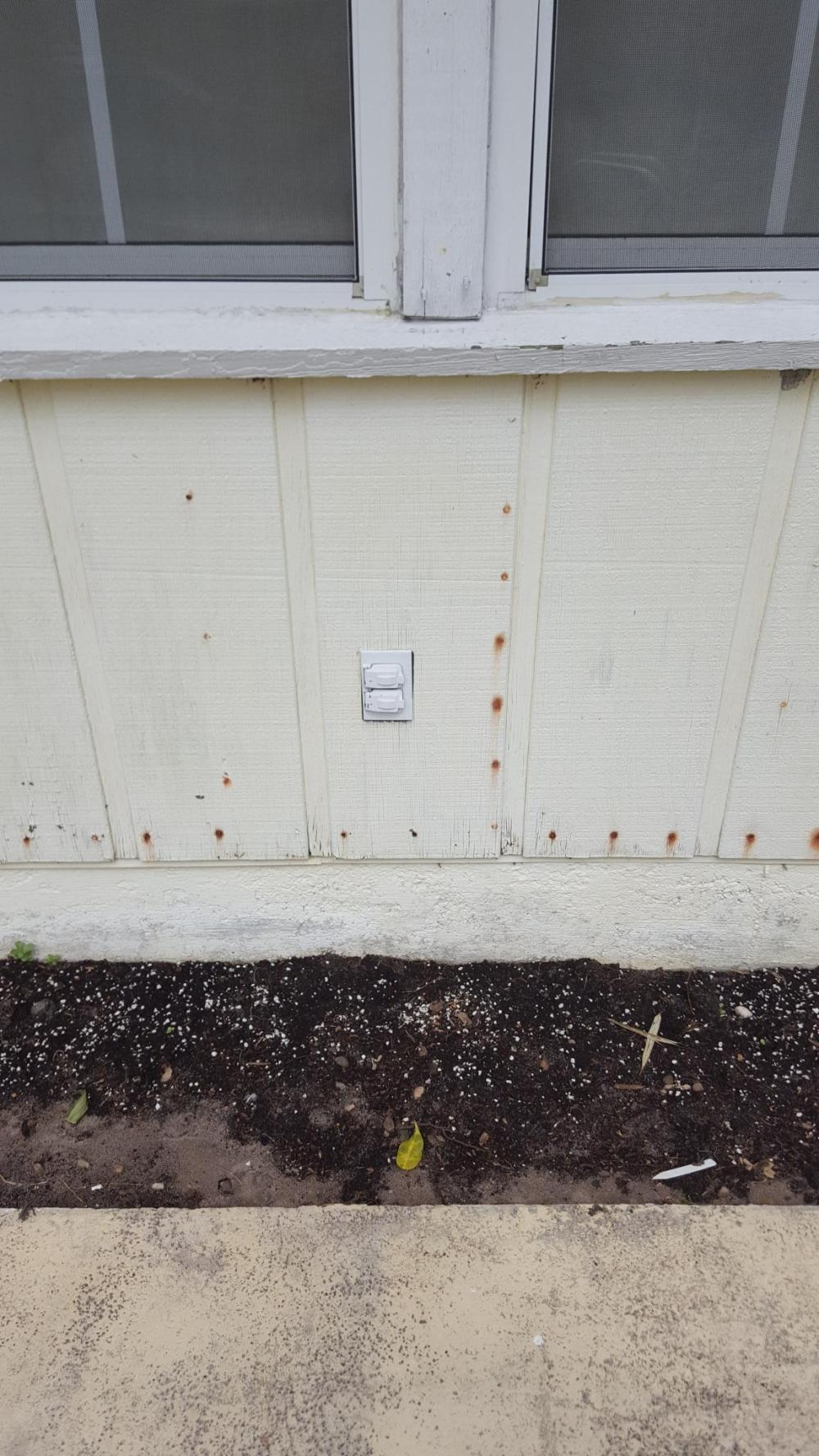 medium resolution of adapting an outside wall outlet to suface mount conduit