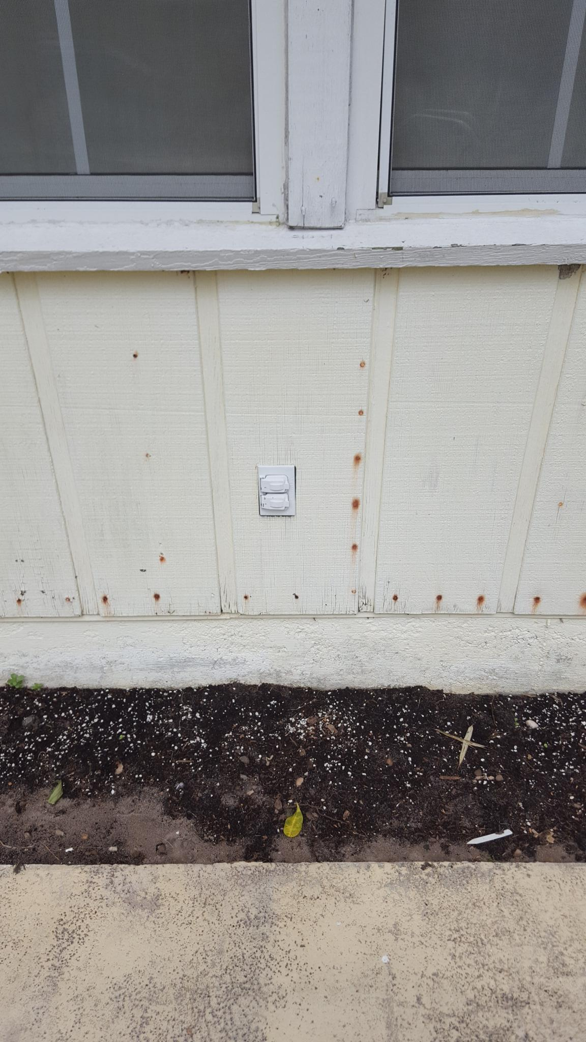 hight resolution of adapting an outside wall outlet to suface mount conduit