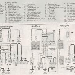 Wiring Diagram For Rear Trailer Lights Basic 110 Volt Nissan Brake Won T Go On Tail Off Motor