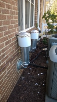 exhaust - Are my direct-vent water heater flues installed ...