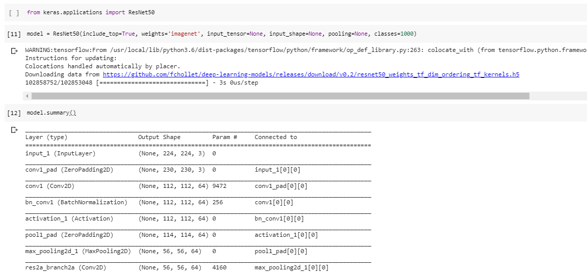 I am not able to import resnet from keras.applications module
