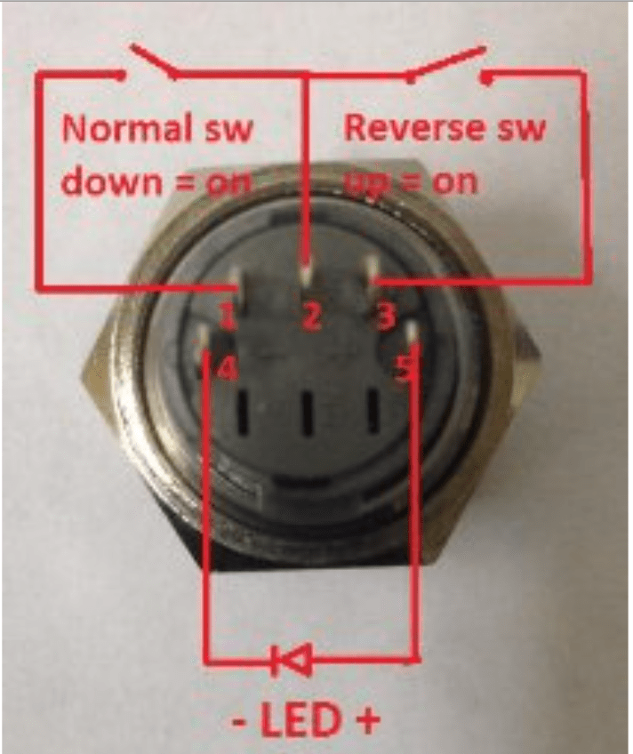 3 way multiple light wiring diagram marine power switches - 5 pin push button switch with led ac question electrical engineering stack ...