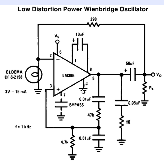 Is this a suitable sine wave osc? how would I control the