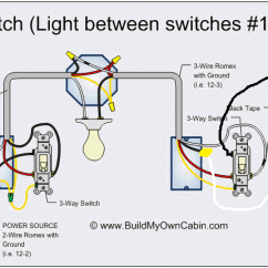 3 Switch Wiring Diagram Multiple Lights 2001 Nissan Frontier Ignition Electrical Trying To Add A Light At The End Of Way Additional On