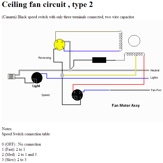 5 Wire Motor Wiring Diagram