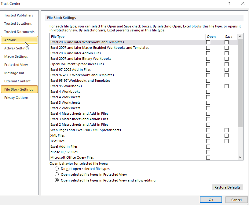 microsoft excel - Protected view in Office 2010 hangs and can't be ...