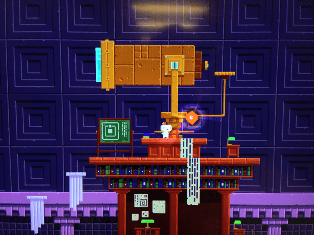 fez  What are the Giant Telescope rooms secrets  Arqade