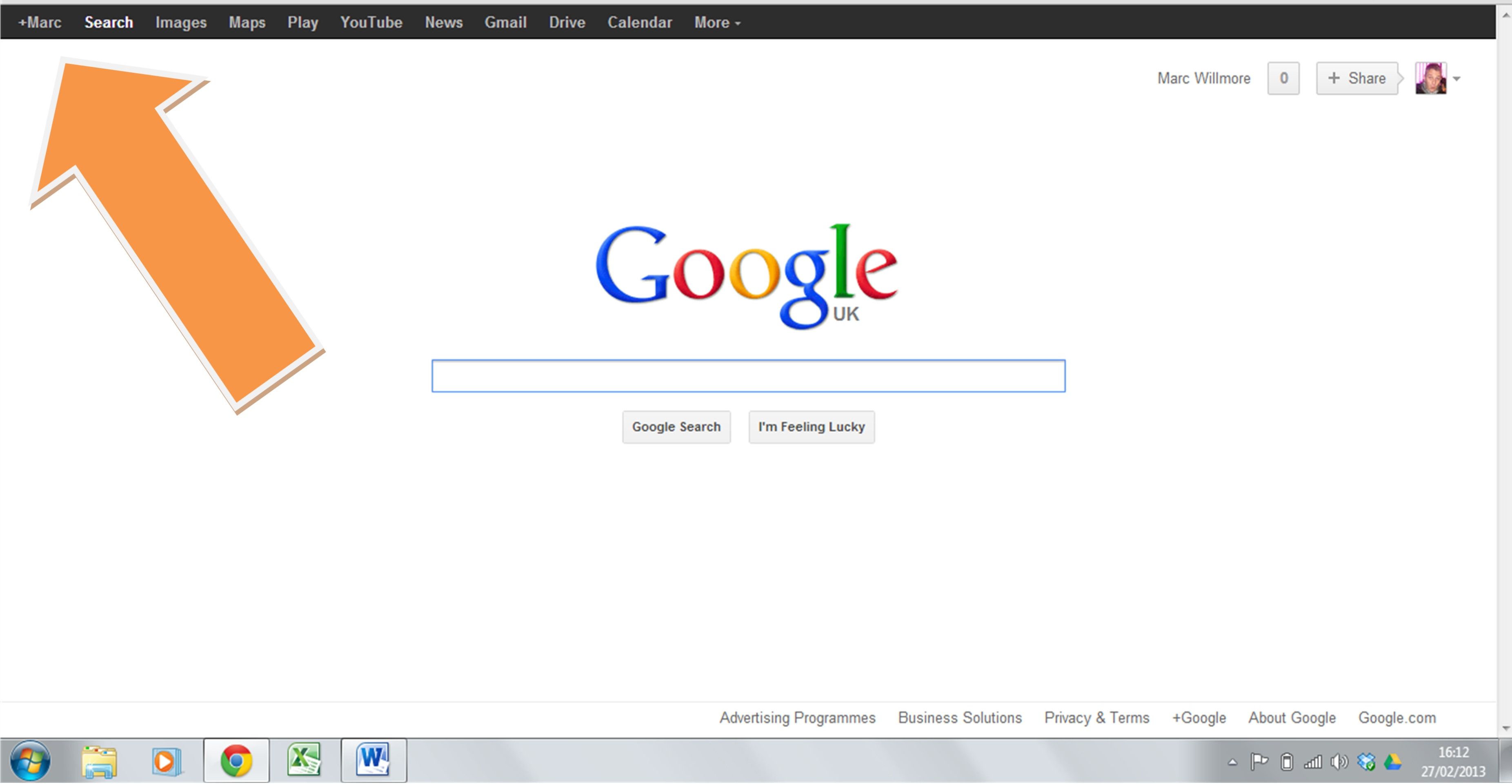 How To Get Back The Black Bar On Google Search