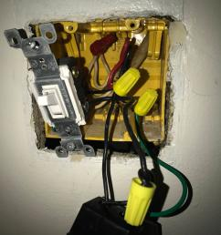 electrical replacing a dimmer switch with regular home electrical how can i wire this dimmer switch home improvement [ 2510 x 3347 Pixel ]
