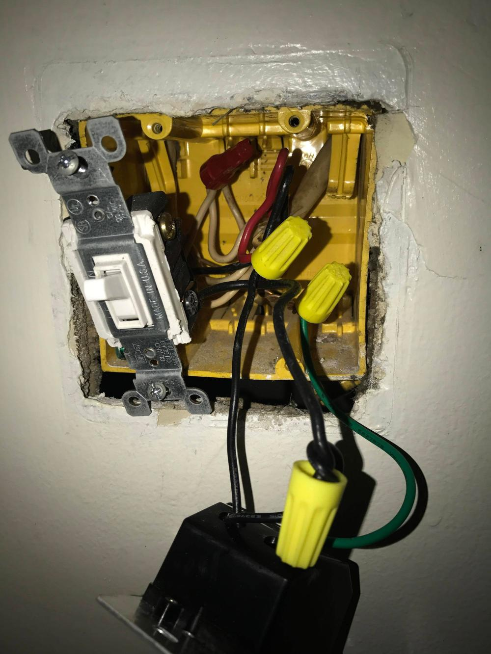 medium resolution of electrical replacing a dimmer switch with regular home electrical how can i wire this dimmer switch home improvement