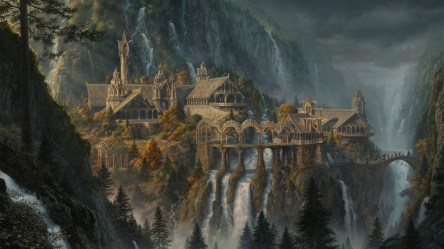 Giving Tolkien Architecture a Reality Check: Rivendell Worldbuilding Stack Exchange