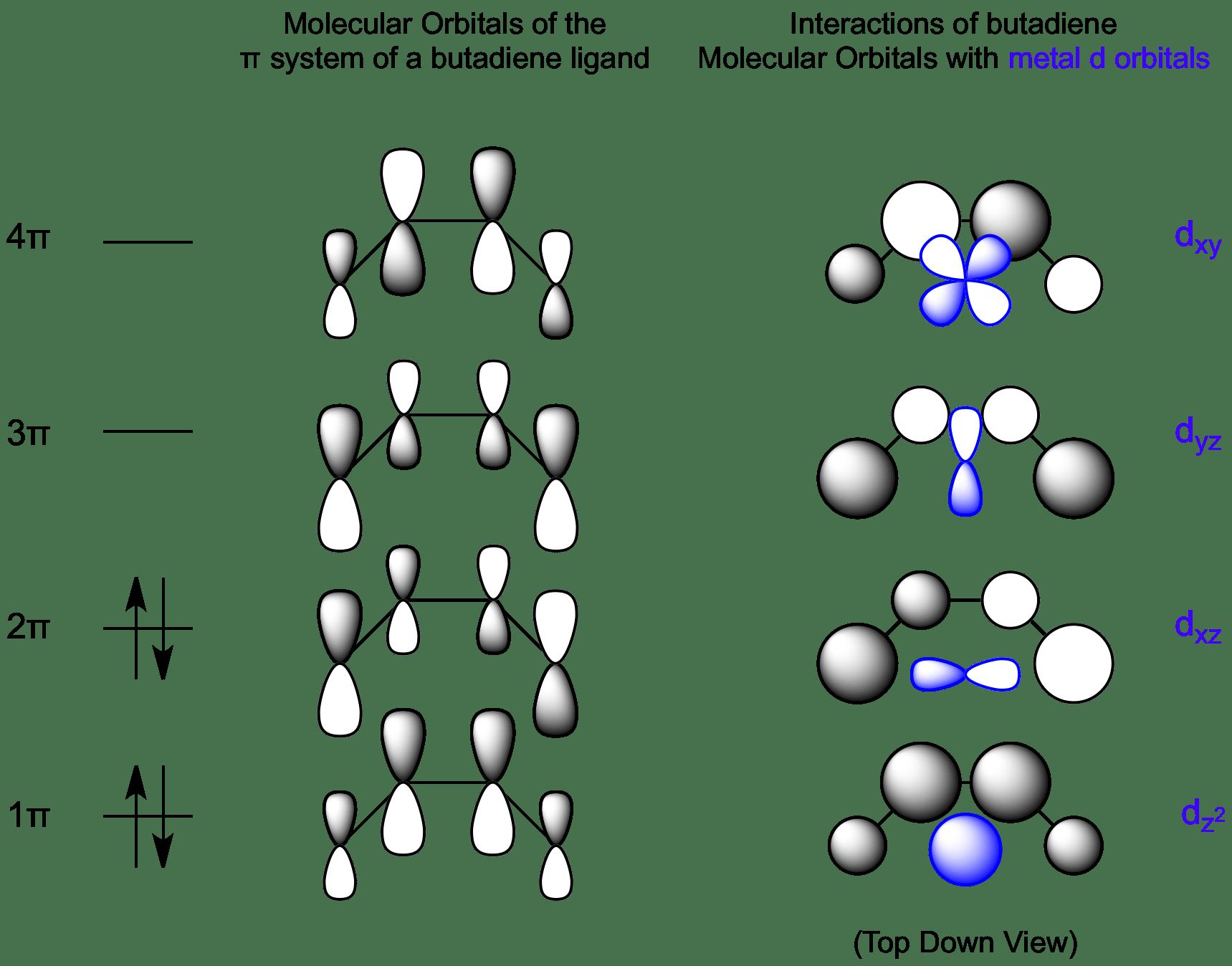 orbital interaction diagram for molecular formation 3