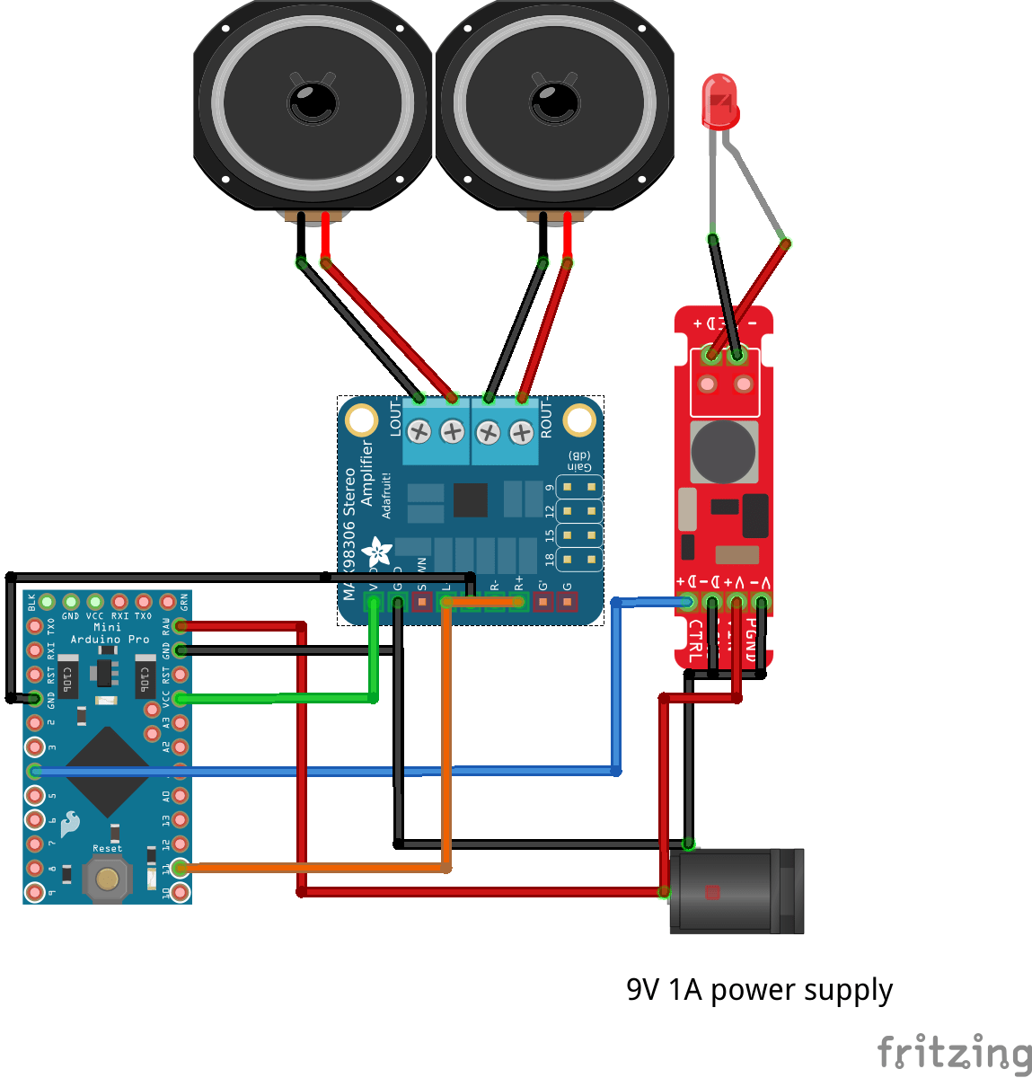hight resolution of usb powered audio power amplifier wiring diagram wiring libraryled arduino continually resets when connected to external