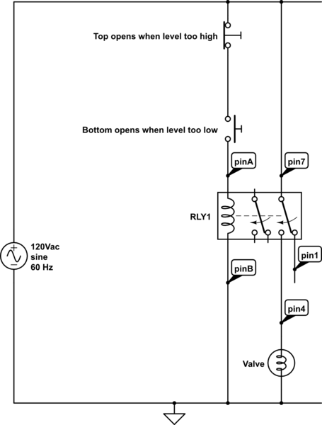 wiring diagram for latching relay craftsman lawn tractor parts how to wire this electrical engineering stack exchange schematic