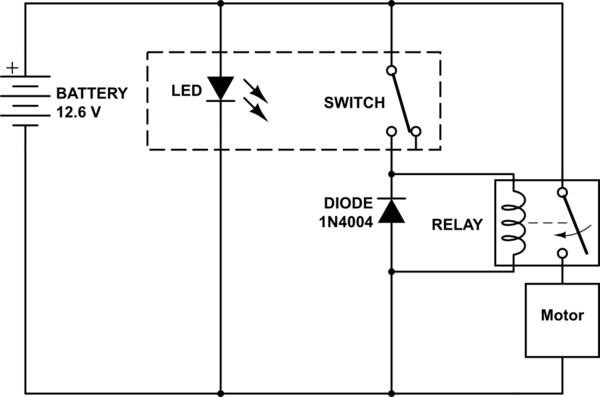 5 Pin Push Button Switch Wiring Diagram