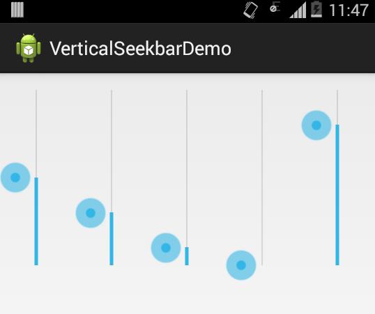Android Seekbar Thumb Size