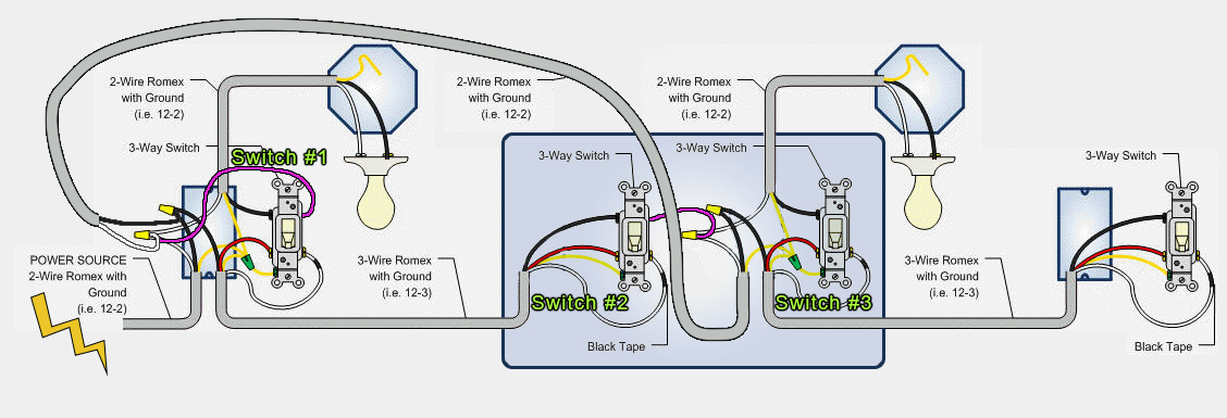 5 way light switch wiring diagram 2002 pontiac aztek stereo electrical a z wave 3 auxiliary with neutral from other neutrals added