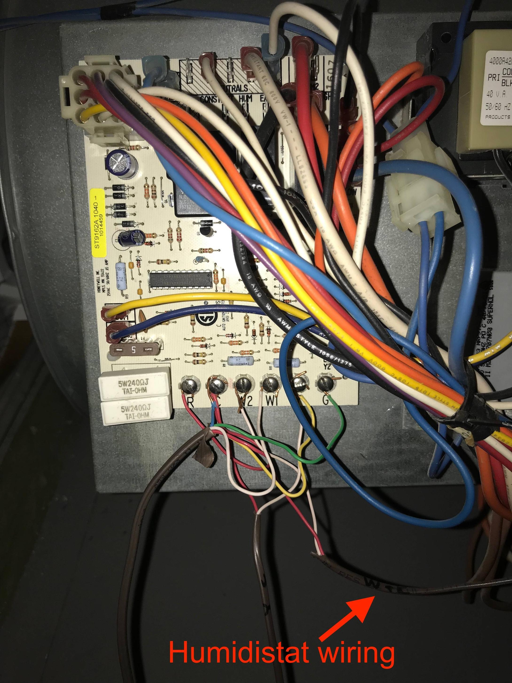 aprilaire humidifier wiring diagram 1990 honda civic dx stereo electrical 56 humidistat not getting power