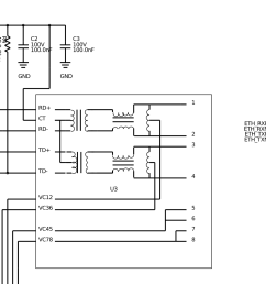 ethernet trace layout with poe integrated magnetics cat6 ethernet wiring ethernet wiring guide [ 2306 x 1450 Pixel ]