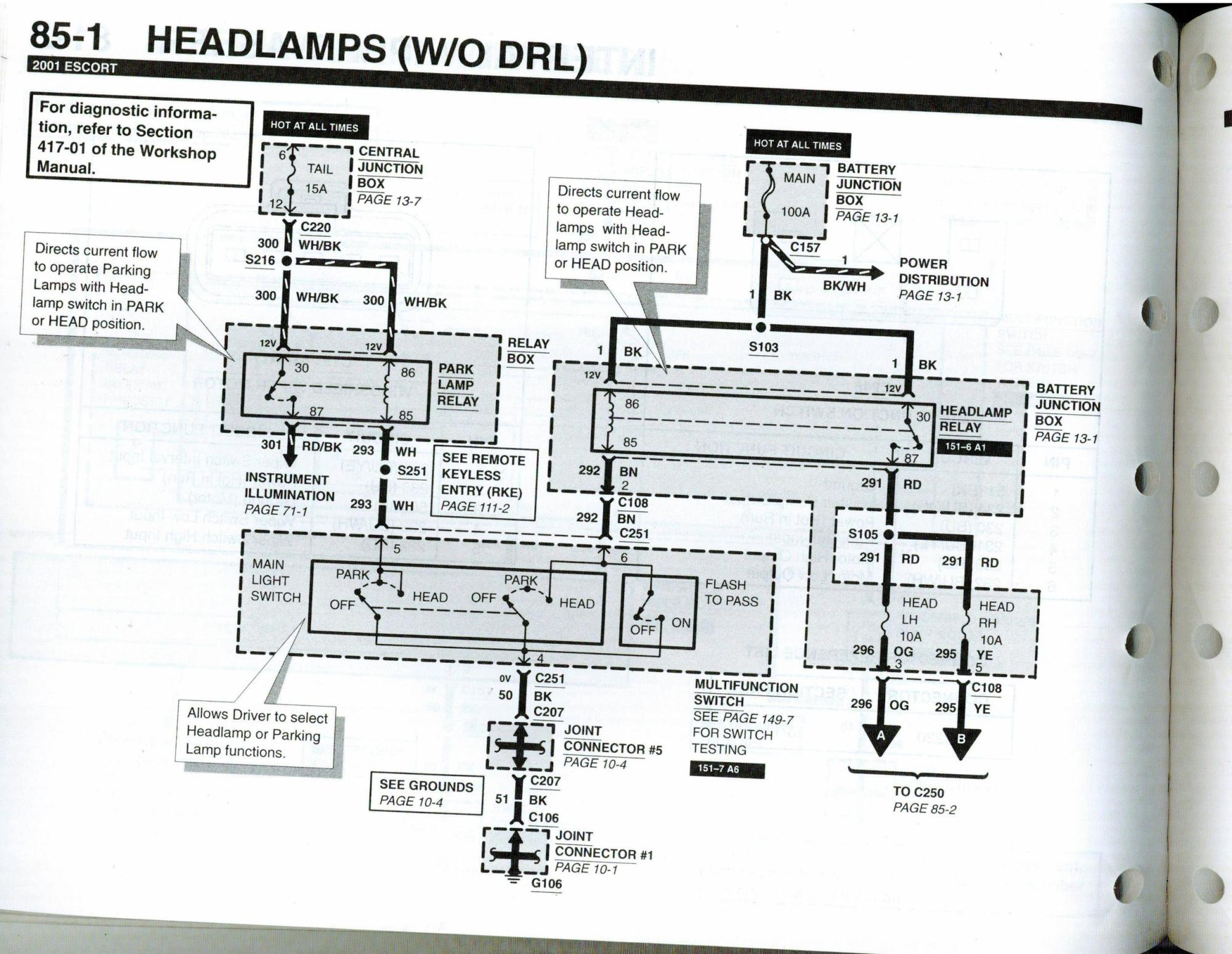 hight resolution of wiring diagrams click to view larger left main fuse