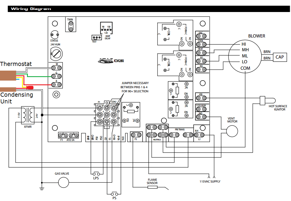 Older Goodman Air Handler Wiring Diagram. Goodman