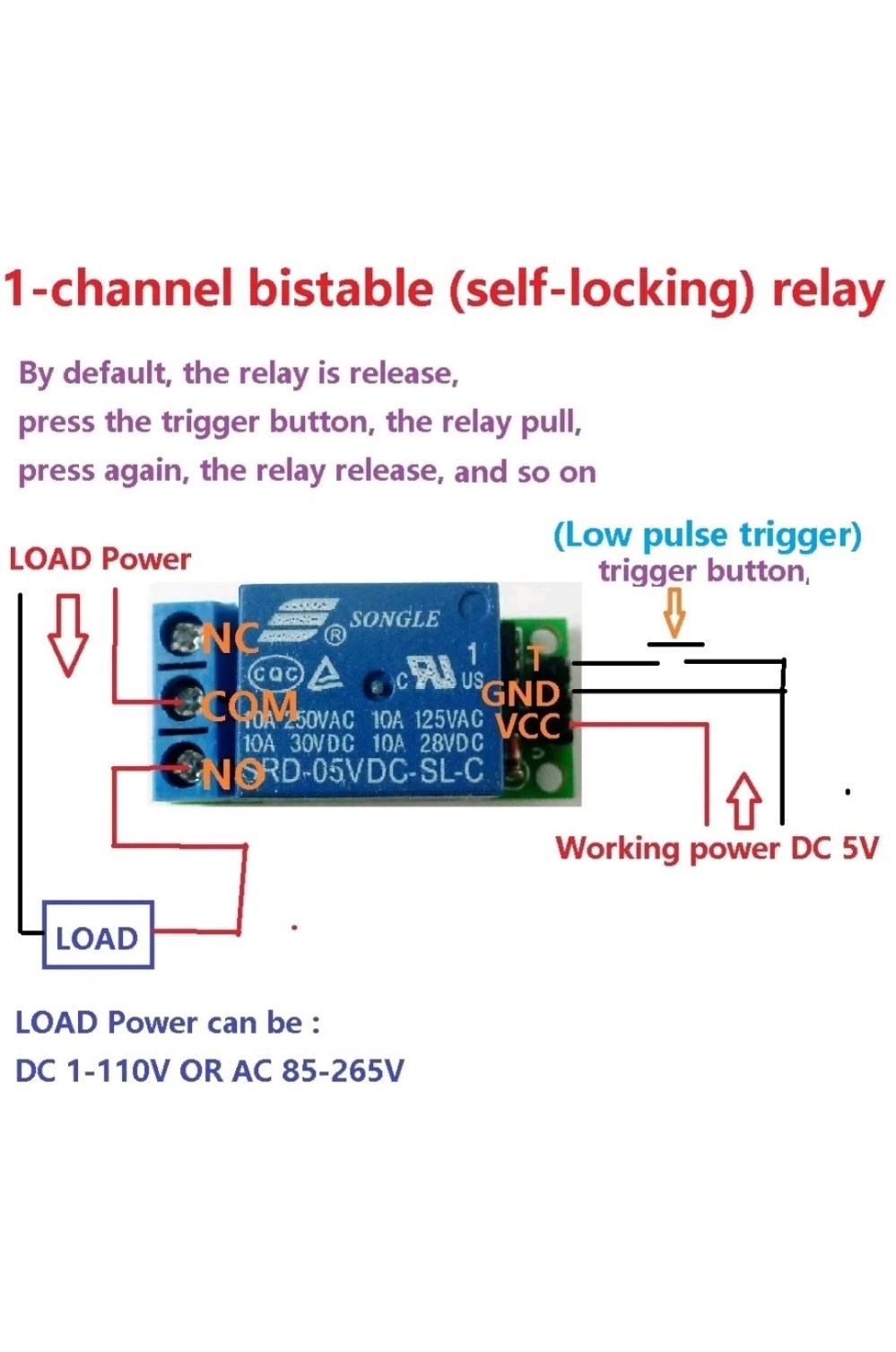 medium resolution of how to create circuit for low voltage trigger of a relay ac voltage relay wiring