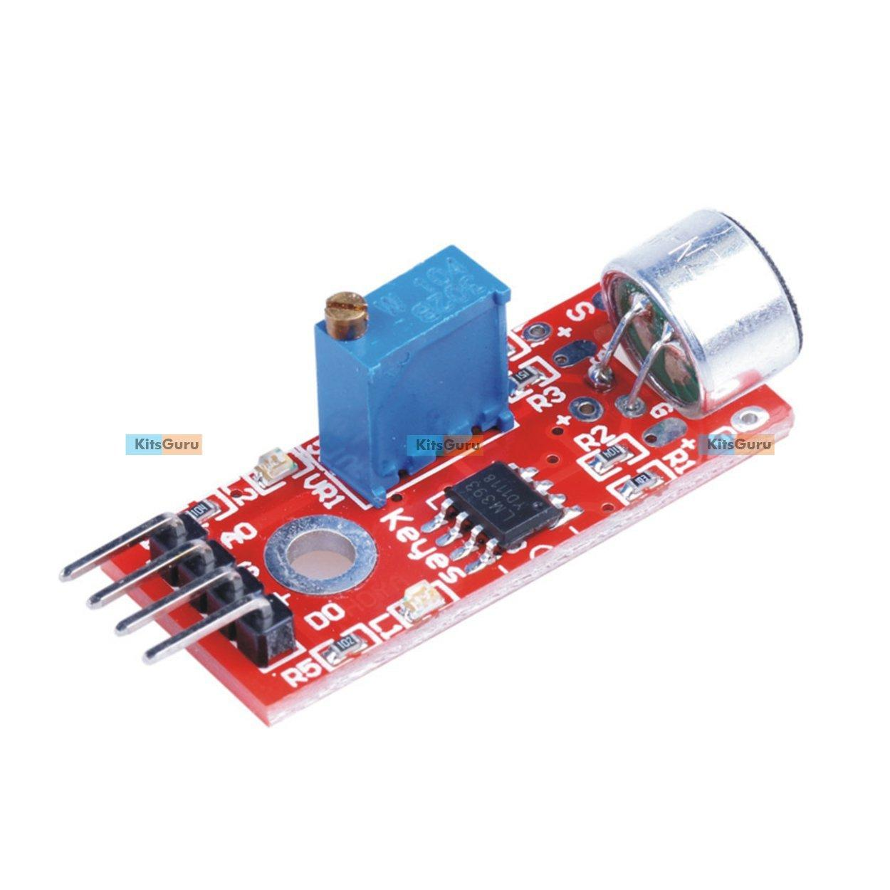 Sound To Light Led Project Circuit Diagram