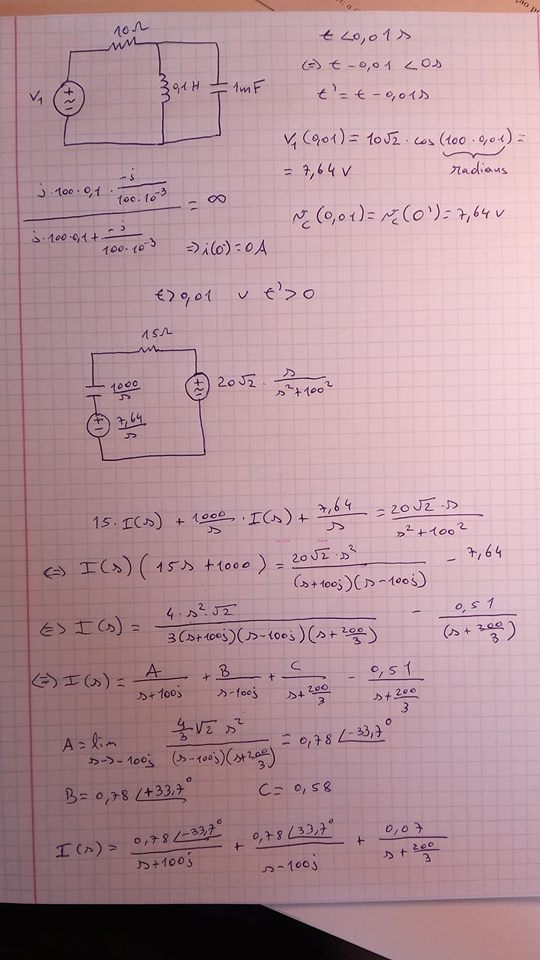 Do Circuit Analysis With A Parallel Circuit Solve For Current