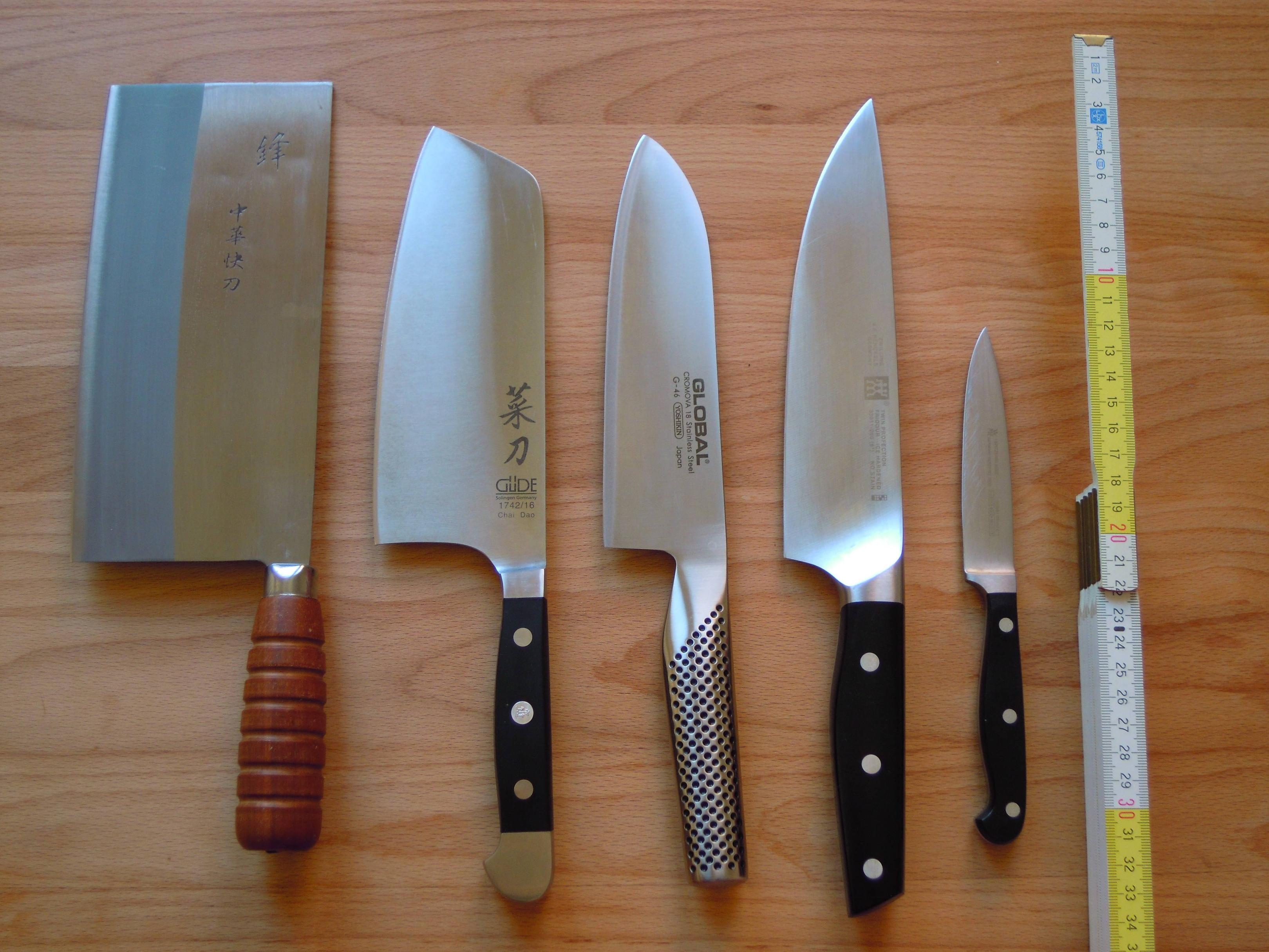 chinese kitchen knife coastal table and chairs equipment how heavy should a chef 39s be