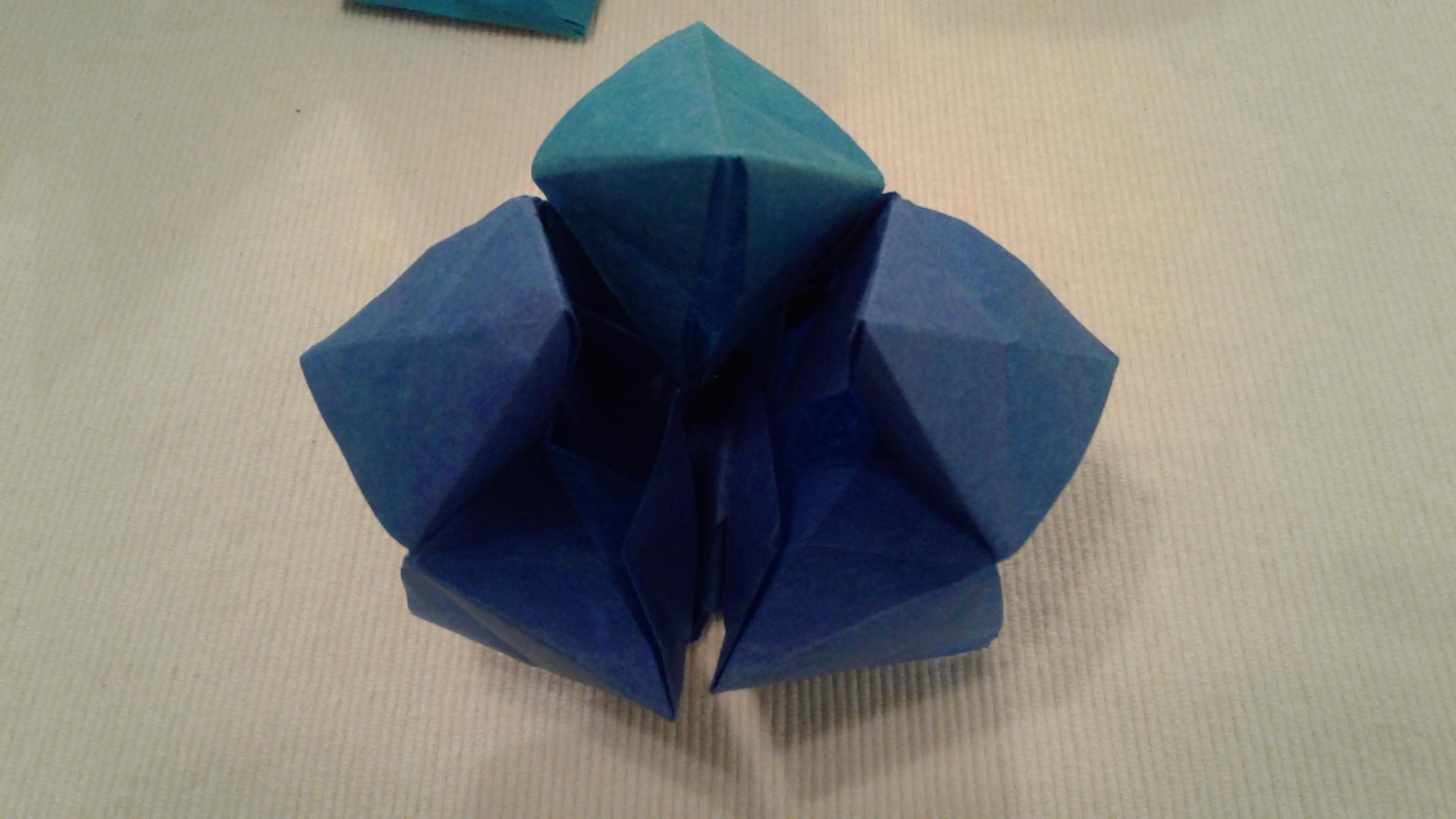 origami  Extended Fortune Teller With  4 Flaps  Arts