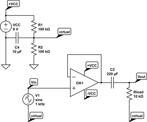 rail splitter circuit