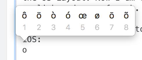 How do I access special characters on Apples Smart