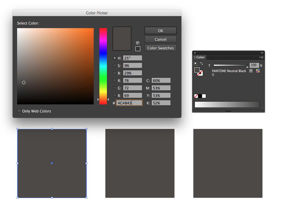 Color Conversion RGB Amp CMYK Equivalents For Pantone