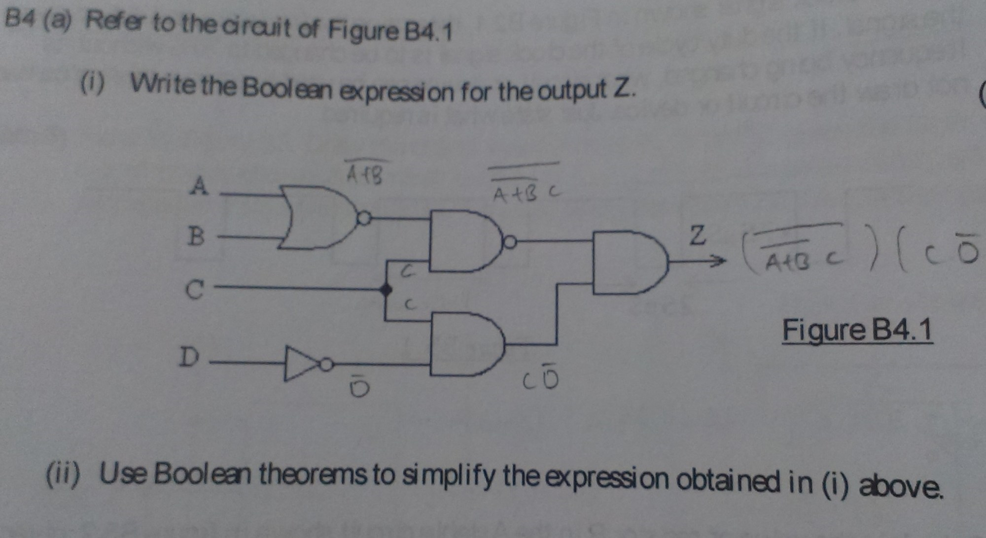 hight resolution of boolean expression