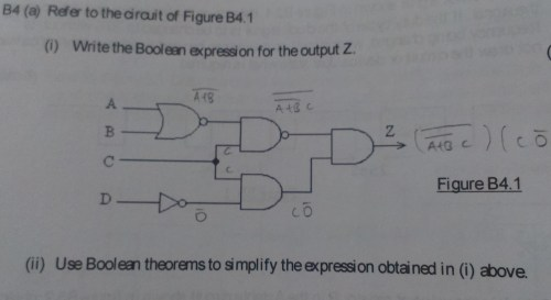 small resolution of boolean expression
