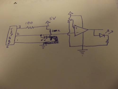 small resolution of schematic 2 infrared ir proximity sensor electrical