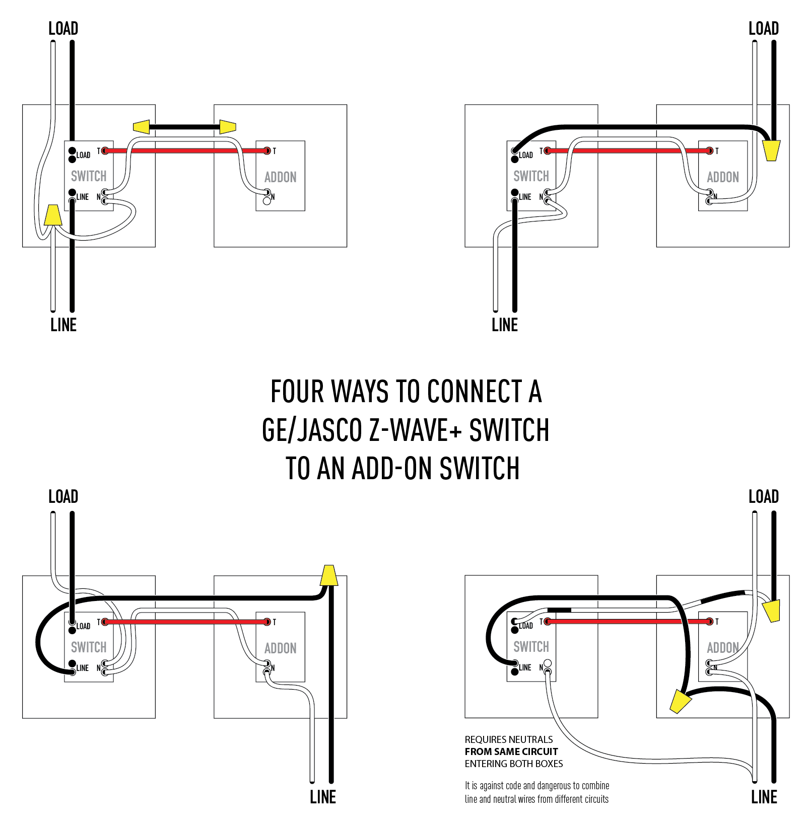 hight resolution of electrical are these four add on wiring techniques all up to code new home wiring techniques