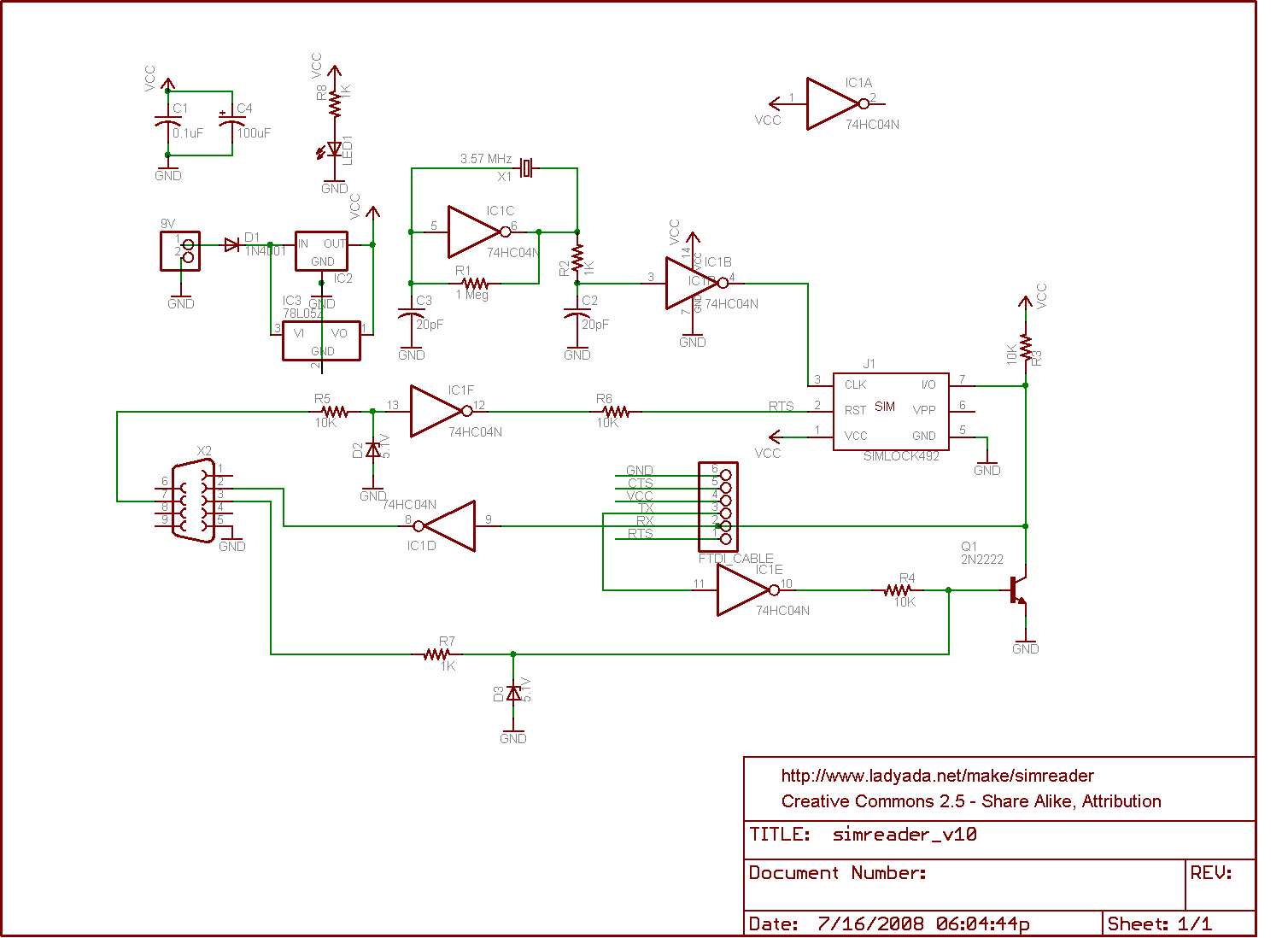 hight resolution of  sim card reader circuit