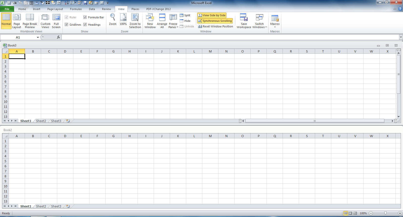 Cannot View Worksheet In Excel