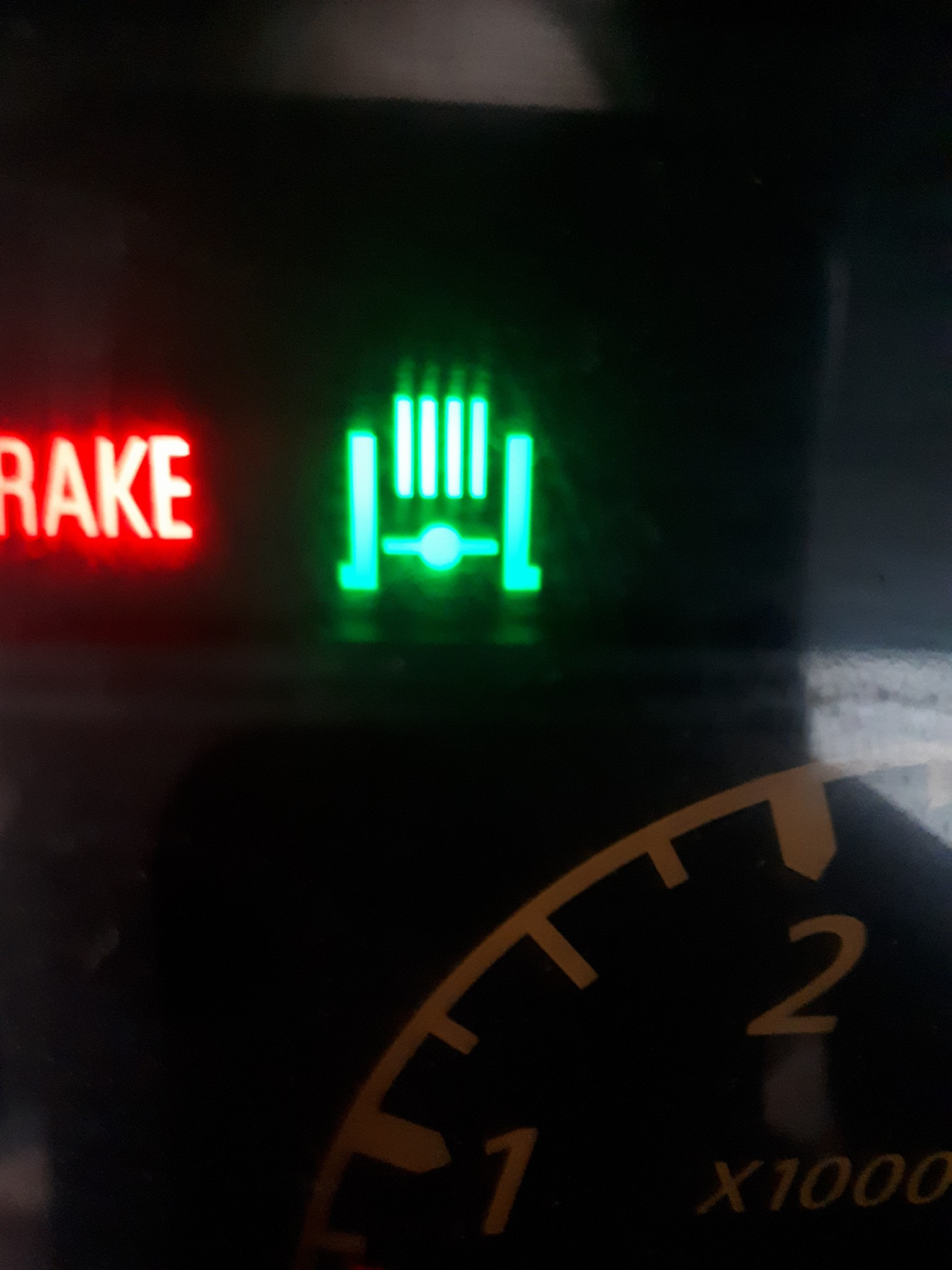 hight resolution of dashboard mystery light
